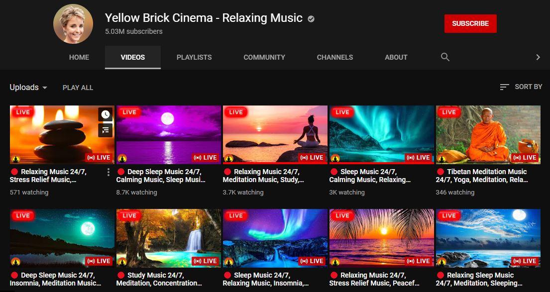 yellow brick cinema on youtube